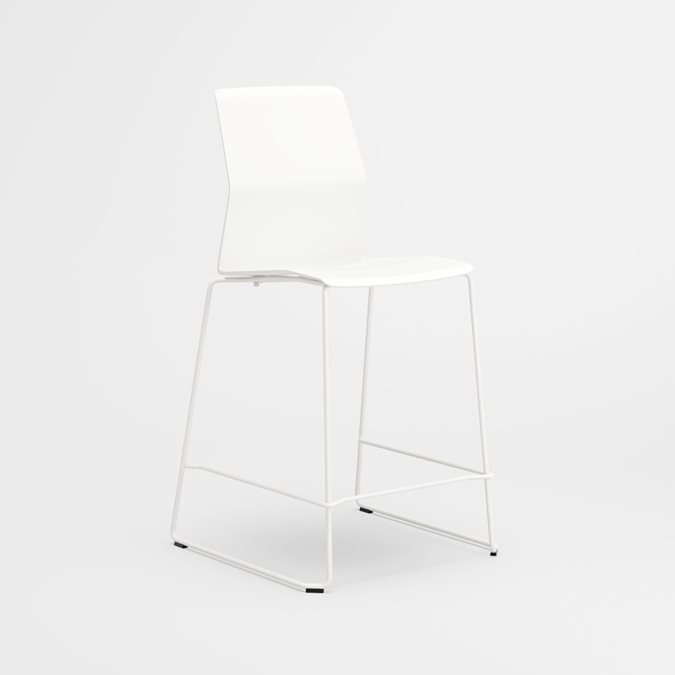 Leia Stool Stools - Office Furniture | Kinnarps | Kontorindretning for alle