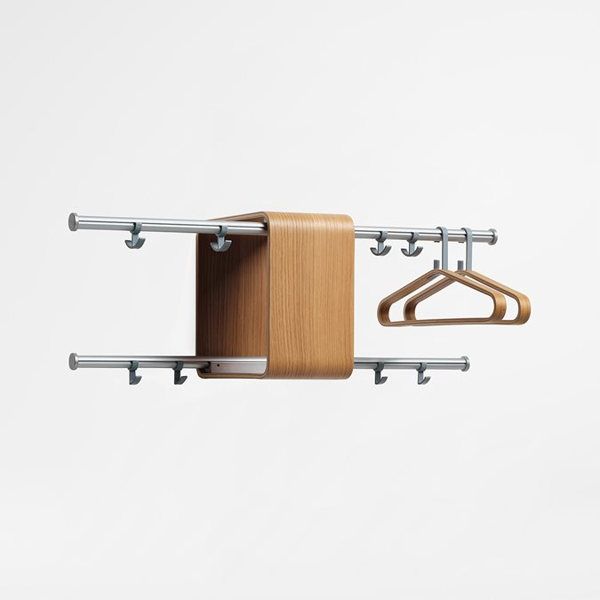 Kvadrat Coatrack Accessories - Office Furniture | Kinnarps