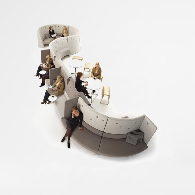 Le Mur Soft Seating - Office Furniture | Kinnarps
